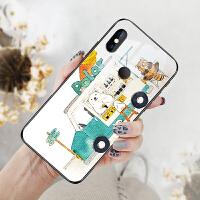 小米mix3手机壳mimix3新款小迷x3保护xiaomix三套玻璃mx3网红M1X3个性6.39英