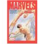 现货 漫威 明信片簿 英文原版 Marvels Postcard Book 亚历克斯・罗斯地标系列作品 美国队长 银滑 蜘蛛侠