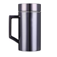 304不锈钢钛金保温杯 男女士水杯子商务茶水杯聚会礼品定制刻印字