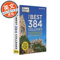The Best 384 Colleges, 2019 Edition 英文原版 美国384所大学名录 美国高考择校资