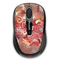 微软(Microsoft)3500 无线蓝影便携鼠标 超小Nano接收器 蛇年纪念版 全新盒装正品行货