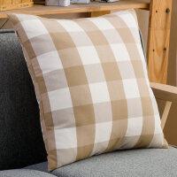 20191114224901387北欧风格子床头靠枕头套大靠垫60沙发抱枕套不含芯正方形家用