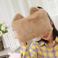 【好货优选】红鹏 暖手袋可充电热水袋兔毛抱枕暖手宝电暖宝暖宝宝 不含纸盒