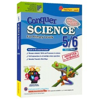 SAP Conquer Science For Primary Levels 5-6 小学五六年级新加坡科学科目教辅 提