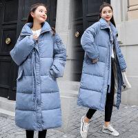 冬季加厚棉袄棉衣女2018冬装新款中长款外套羽绒冬天韩版女装