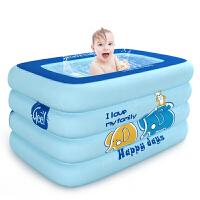 婴儿游泳桶家用恒温室内家庭新生儿宝宝游泳池儿童洗澡充气池