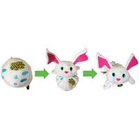 Zoobies如比玩具  毛绒翻转球 兔子毛绒玩具AJ105
