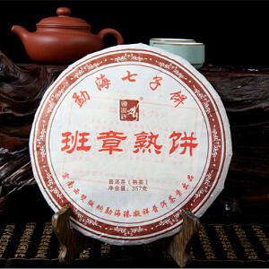 2008年 秦凝详 (班章熟茶)熟茶 357克/饼 28饼