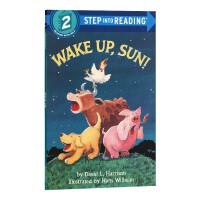 醒醒吧,太阳 兰登step into reading 2阶英文原版 Wake Up, Sun!