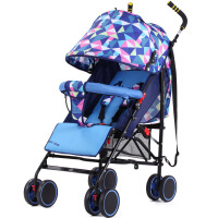 呵宝 母婴用品 婴儿推车可坐可躺儿童手推车超轻便携宝宝车避震