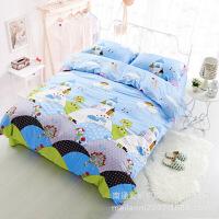 20191107181251540全棉斜纹印花四件套床单款纯棉多规格四件套床上用品