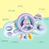 儿童方向盘玩具仿真驾驶大号0-1岁婴儿推车挂件男孩宝宝3早教益智