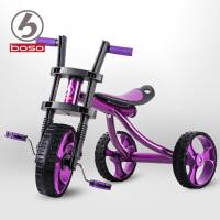 宝仕儿童三轮车宝宝脚踏车幼儿自行车玩具车童车1-3岁哈雷