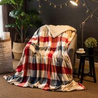 【用券立减50元】御目 毛毯 双层加厚多功能沙发盖毯羊羔绒法兰绒办公室午睡午休儿童毯子被套单双人礼品毯床上用品
