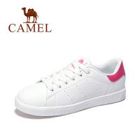 【领券立减111元】Camel/骆驼女鞋 运动板鞋 新春款休闲透气耐磨女士时尚小白鞋