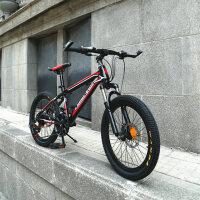 耐嘛自行车20寸山地车儿童小孩21变速单车男女小学生5-12岁