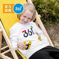【冰点秒杀价:71】361度男童 套头卫衣2019年秋季新品N51933302
