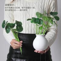 7头仿真玫瑰花束 欧式高档客厅办公桌装饰摆件假花绢花插花