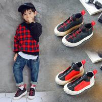 男童鞋子秋冬儿童运动鞋高帮板鞋休闲鞋