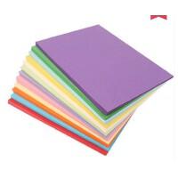 好吉森鹤/北京线上50元包邮//彩色A3纸/打印复印纸/彩纸/手工纸折纸 (厚款230G左右)厚卡纸/297*420MM/张/彩色纸------------------100张彩色+送品33242