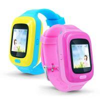 爱卡乐小芒果儿童智能电话手表触摸屏防水通话电话GPR追踪手环防脱落提醒