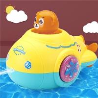 �和�洗澡玩具�����蛩�花���水艇游泳�l�l��水男女孩浴室�蛩�玩具