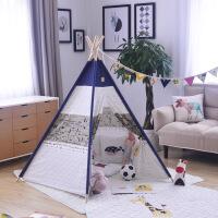 维莱 儿童游戏布帐篷户外超大游戏屋宝宝玩具屋公主屋 儿童摄影道具 五角小飞机(蓝边朝上)