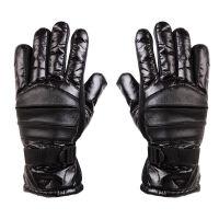 捷昇 户外保暖手套 冬季登山滑雪男士骑车防风全指抓绒手套