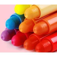 蜡笔油画棒36色水溶性24色套装儿童画笔炫彩油化棒