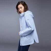 【品牌特惠】诺诗兰卡瑞金女式防风外套GF082622