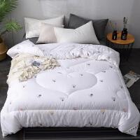 棉花被芯纯棉花被子冬被全棉手工单双人春秋加厚保暖垫被 220x240cm【 10斤】--冬被