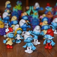 蓝精灵3 失落的村庄 寻找神秘村 公仔玩偶摆件玩具 礼物 蓝精灵全套24个