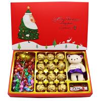 巧克力 圣诞节送女友闺蜜全心全意巧克力礼盒装千纸鹤糖果礼盒男生节日生日礼物