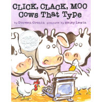 Click Clack Moo 咔嗒,咔嗒,哞 (精装)ISBN 9780689832130