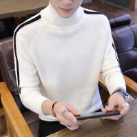 高领毛衣男韩版潮流高中学生原宿风男士针织衫秋冬季加厚宽松线衣