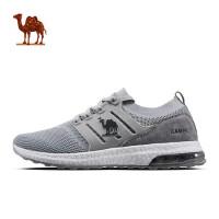 骆驼运动鞋 男春夏新款男鞋轻便跑步鞋 减震耐磨飞织气垫跑鞋
