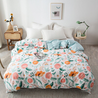 全棉被套单件纯棉单人套宿舍1.5米床纯棉被罩双人200x230