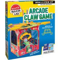 英文原版 自制抓娃娃机 儿童手工书 STEM教育 机械原理 物理学 动手能力培养 玩具书 Klutz: Arcade