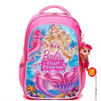 芭比书包女孩小学生1-3年级儿童背包3-6岁幼儿园女童一年级