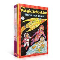 The Magic School Bus 神奇校车百科9本套装 Jeanette Lane 经典英文原版科普读物