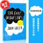 现货 无比美妙的痛苦 The Fault In Our Stars 英文原版 星运里的错 电影原著 畅销青春爱情小说 约翰格林 John Green