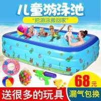 儿童充气游泳池家用成人加厚超大号水上乐园小孩宝宝家庭婴儿泳池