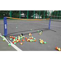 Teloon/天龙 室内外网球架 便携式 可折叠 安装简易 网球拦网