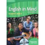 剑桥中学英语教材 English in Mind Student's Book 2 With DVD-ROM 学生用书
