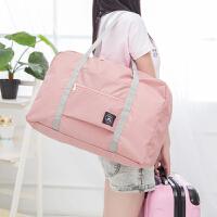 2019旅行折叠包 手提行李袋行李箱单肩包 大容量衣物收纳包 短途出差防水拉杆包抖音同款