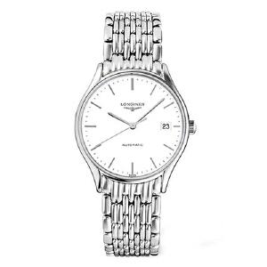 浪琴Longines-律雅系列 L4.860.4.12.6 机械男士手表