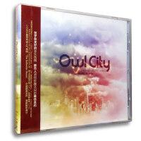 【正版】OWL CITY 猫头鹰之城《浮生若梦》清新电子舞曲CD
