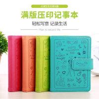 学生创意日记本迷你小本子可爱皮面记事本韩版文具笔记本