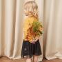 【满200减40/满300减80】迷你巴拉巴拉女童拼接连衣裙2018秋新款童装女宝纯棉套头长袖裙子