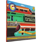 On the Train 英文原版 精装 小达尔文大发现系列 火车轰隆隆 Shine A Light 光影魔术书